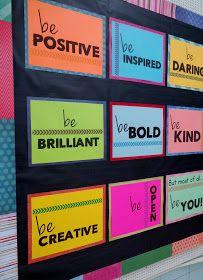 Brain Waves Instruction: 3 Easy Ways to Turn a Drab Bulletin Board into a Fab Bulletin Board Character Bulletin Boards, Staff Bulletin Boards, Health Bulletin Boards, Elementary Bulletin Boards, Interactive Bulletin Boards, Back To School Bulletin Boards, Bulletin Board Display, Magnet Boards, Maths Classroom Displays