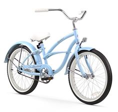 Firmstrong Urban Single Sd Beach Cruiser Bicycle 20inch Baby Blue You Can Find Out