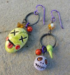 Art Jewelry Elements: Mismatched Monday: Halloween Edition