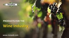 TranPak has been serving the Wine Industry for more than 20 years. Here's a quick overview of our products perfectly suited to the needs of wine producers.   Our plastic material handling products will help protect your harvest and control your costs. See more here... http://www.tranpak.com/popular-industries-and-uses/wine   Our range includes:  - 24 Series Macro Bin  - Macro T-Bin  - 275 gallon and 330 gallon IBCs  - Sigma Plastic Pallet  - Impala Plastic Pallet   Click to read full PDF