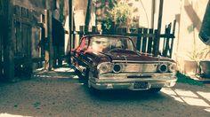 #diorama Ford thunderbolt