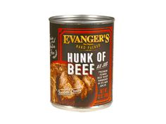 Evanger's Dog & Cat Food Recalls Select Lots of Hunk of Beef Products | petMD