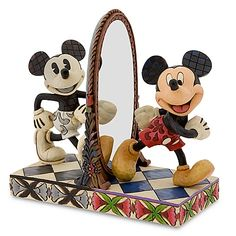 ''Then and Now'' Mickey Mouse Figurine by Jim Shore   $59.50