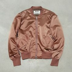 satin green bomber - Google Search