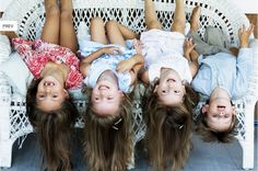 Cousins love, upside laughs, captured by Cathrine Westergaard