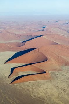 Most unusual scenery in the world :: Dunes, Namibia, Africa. Beautiful World, Beautiful Places, Deserts Of The World, Beau Site, Out Of Africa, Africa Travel, Natural World, Amazing Nature, Land Scape