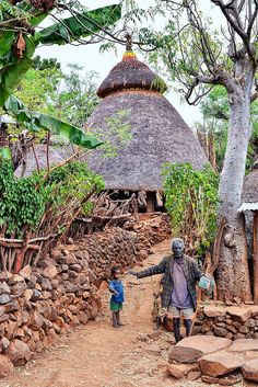 Konso Village, Ethiopia                                                                                                                                                                                 Más African Countries, African Tribes, Horn Of Africa, Africa Art, Addis Ababa, Seychelles, Uganda, Madagascar, Tanzania
