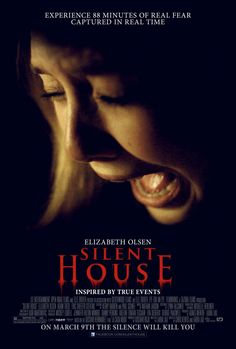 Silent House , starring Elizabeth Olsen, Adam Trese, Eric Sheffer Stevens, Julia Taylor Ross. A girl is trapped inside her family's lakeside retreat and becomes unable to contact the outside world as supernatural forces haunt the house with mysterious energy and consequences. #Drama #Horror #Mystery #Thriller