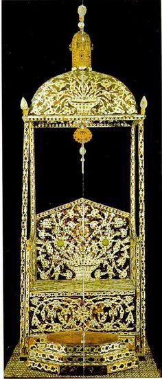 Трон Султана, зал сокровища Османское государство.