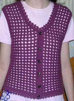 My favorite crochet vest pattern www.sage-urban-homesteading.com
