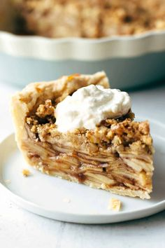 Super easy Apple Walnut Pie
