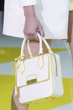 Louis Vuitton Spring 2013 - Details ... Again, not a huge LV fan but this one is cute too.