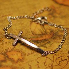 Luxury Simple Bronze Cross Bracelets Jewelry