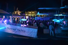 The Sunreef Yachts Annual Cocktail Reception at the Sunreef Yachts stand during the Cannes Yachting Festival 2014