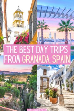Looking for the best day trips from Granada? This post details Granada day trips to Nerja, Frigiliana, Ronda, Cordoba, Seville, and some other hidden gems! #granadadaytrips #daytripsfromgranada #daytrips #spaintravel #visitgranada #visitspain #granadatravel | Granada day trips | Day trips from Granada Spain