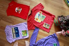 A magazine challenge: kid-designed t-shirts - The Artful Parent