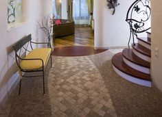 neutral carpet and tile layouts - Google Search