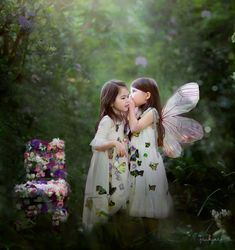 jinky art photography, babies, kids, childre, art, photography, inspiration, jinky art, nature, fairy, butterfly, garden, girls