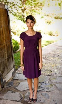 accessorise brown dress - Google Search