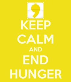 Think about it! Together we can end hunger all around the world all it takes is a little inspiration and a whole lot of love! #FCE #TogetherWeCan
