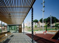 Jardins Ernest Lluch: Santa Coloma de Gramenet (España), 2004