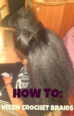 HOW TO: Versatile/ Vixen Crochet Braids