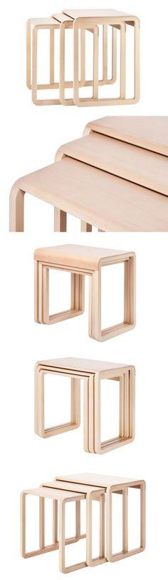 Marc Venot 1010 Nesting Tables