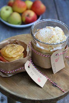 Zweierlei Apfelkuchen