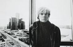 Andy Warhol in Detroit. Top floor,PontchartrainHotel, 1985.