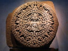 Egyptian & Mayan-Aztec Calendars: Incredibly Sophisticated Earliest Works of Art.    Regardless of what you think about Mayan Calendar concerning 2012, you have to admit their representation of time flow was simply stunning...