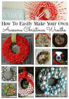 Have you ever wanted to make a Christmas wreath, but stuck on where to start?…