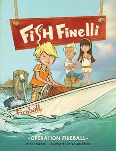 Fish is a good character-- he means well, but things don't always work out for him. This had some fun action and adventure, with a touch of survival. Review from Ms. YingLing Reads.