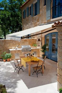 Find some simple ways -- like awnings, canopies, umbrellas, sailcloths -- to cover your outdoor living space without spending a lot of money.