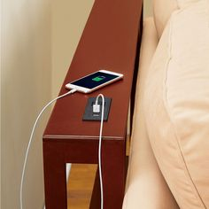 Sofa Table with Built-In USB Charging Station | Collections Etc.
