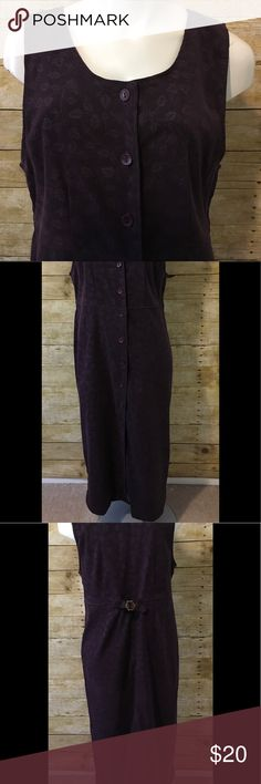 "Christopher & Banks Stretch Maxi Dress Christopher & Banks Stretch Purple Printed Long Maxi Dress. Buttons down the Dress. The Dress has a soft feel to it. 97% Polyester, 3% Spandex. Chest Measurements 18 1/2"". Christopher & Banks Dresses Maxi"