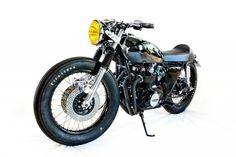 Pure Motorcycles Black Beauty, Honda CB500
