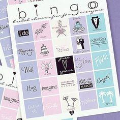 Bridal Shower Bingo - by Beau-coup