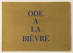 'Ode á la Bièvre was made by Louise Bourgeois in 2002 as an embroidered book from fragments of cloth.'
