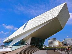 EYE Film Institute Netherlands, Amsterdam by Ken Lee 2010, via Flickr