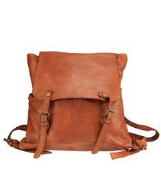 ELIO - Sac à dos en cuir souple lavé effet vintage Messenger Bag, Satchel, Diy, Fashion, Backpacks, Purse, Shoe, Bags, Moda