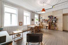 GRÜNERLØKKA: Klassisk 3-roms med originale overflater og moderne uttrykk / Finn.no Bolig til salgs
