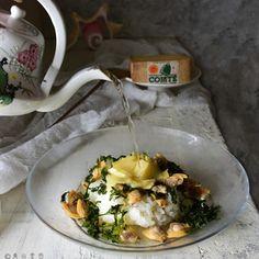 コンテとアサリの白だし茶漬け+by+青山 金魚さん+|+レシピブログ+-+料理ブログのレシピ満載! あぁ この上ない倖せ。秋の夜長のしめくくりにぴったりなまったりかん。 むき身のアサリを茹でて、茹でた湯の灰汁を取り除き、濃縮白だしでのばしました。 冷や飯を温めた上に、コンテチーズをスライスした...