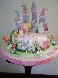 Fairy Theme Birthday Cake Designed And Created By Yamuna Silva Of Yami Cakes Kotte Sri Lanka