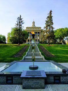 Edmonton Legislature River, Mansions, House Styles, Home Decor, Flower, Board, Decoration Home, Manor Houses, Room Decor