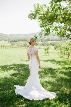gorgeous fit and flare gowns | Candi Coffman #wedding