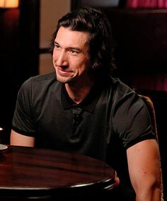 """driverdaily: """"Adam Driver appears in NBC's """"Sunday TODAY with Willie Geist"""" """" Kylo Ren Adam Driver, Trauma, Star Wars Cast, Reylo, Attractive Men, Man Crush, Dimples, Celebrity Crush, Movies"""