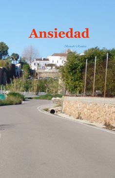 Portada del libro de poemas Ansiedad Comprar en Amazon en www.brisainfinita.com