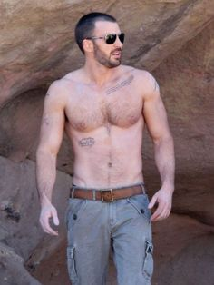 Chris Evans....and all his shirtless glory