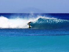 Surfing at Batt's Rock Beach in Barbados