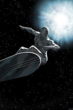 The Silver Surfer-The Arrival by *carstenbiernatYou can find Silver surfer and more on our website.The Silver Surfer-The Arrival by *carstenbiernat Arte Dc Comics, Marvel Comics Art, Marvel Comic Books, Comic Movies, Comic Book Characters, Comic Book Heroes, Marvel Characters, Comic Character, Comic Books Art